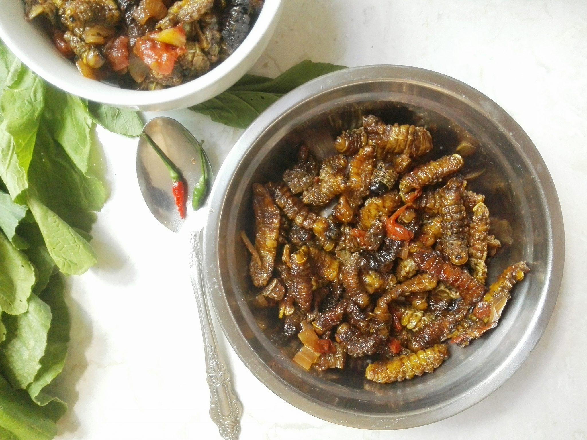 Mopane Worms (Caterpillars)-Zambian Edible Insects