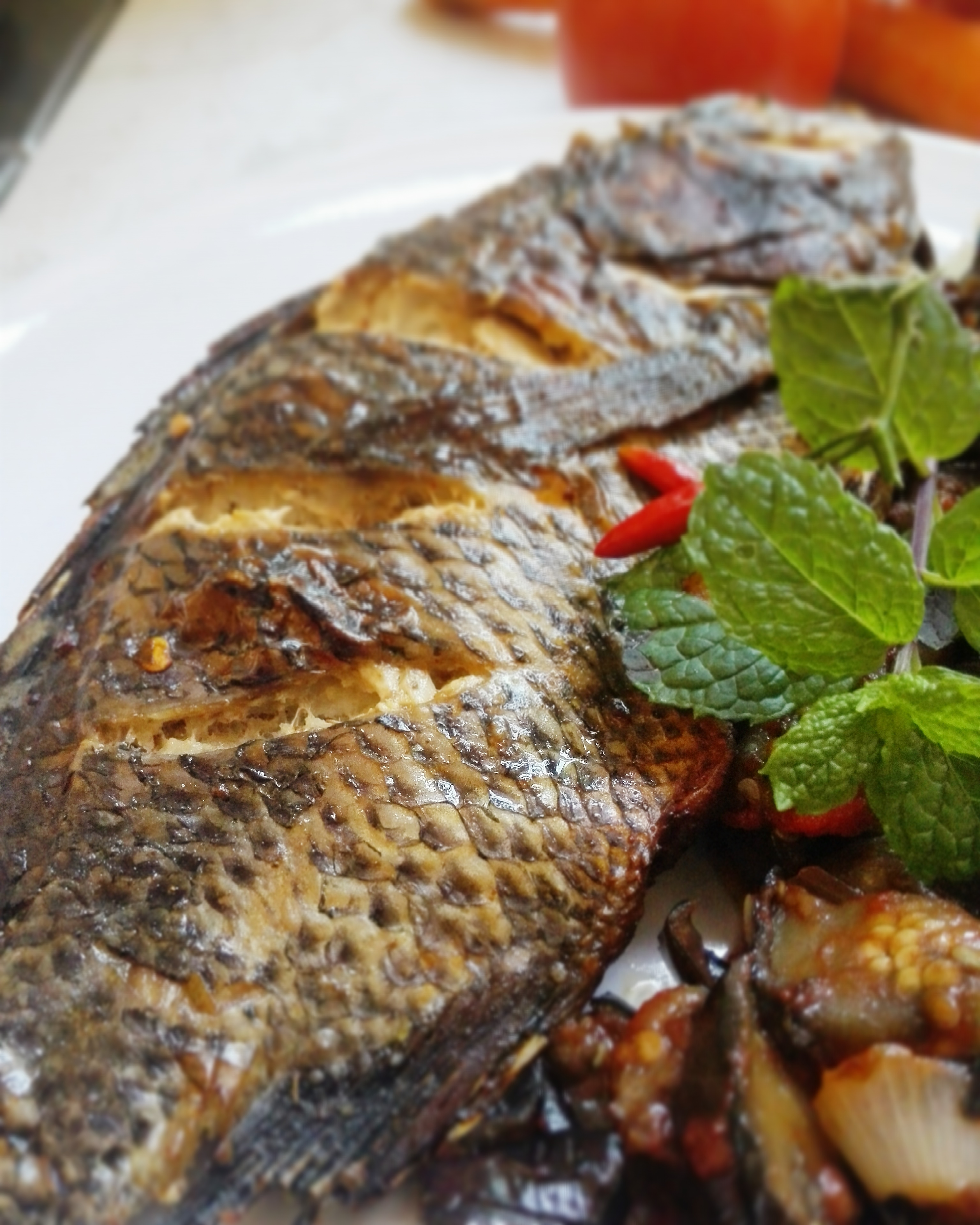 Oven Grilled Fish