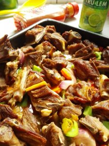 oven grilled goat