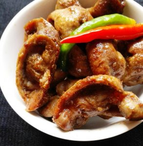 HOW TO MAKE CHILLI CHICKEN GIZZARDS