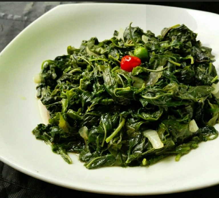 AMARANTH LEAVES RECIPE-BONDWE
