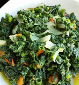 How to Cook Chibwabwa Pumpkin Leaves