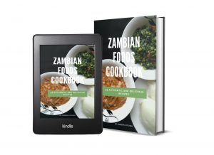 Recipe book on traditional Zambian food