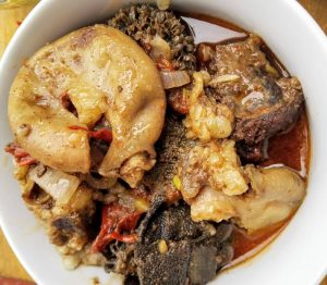 Beef Tripe. Offals. Matumbo