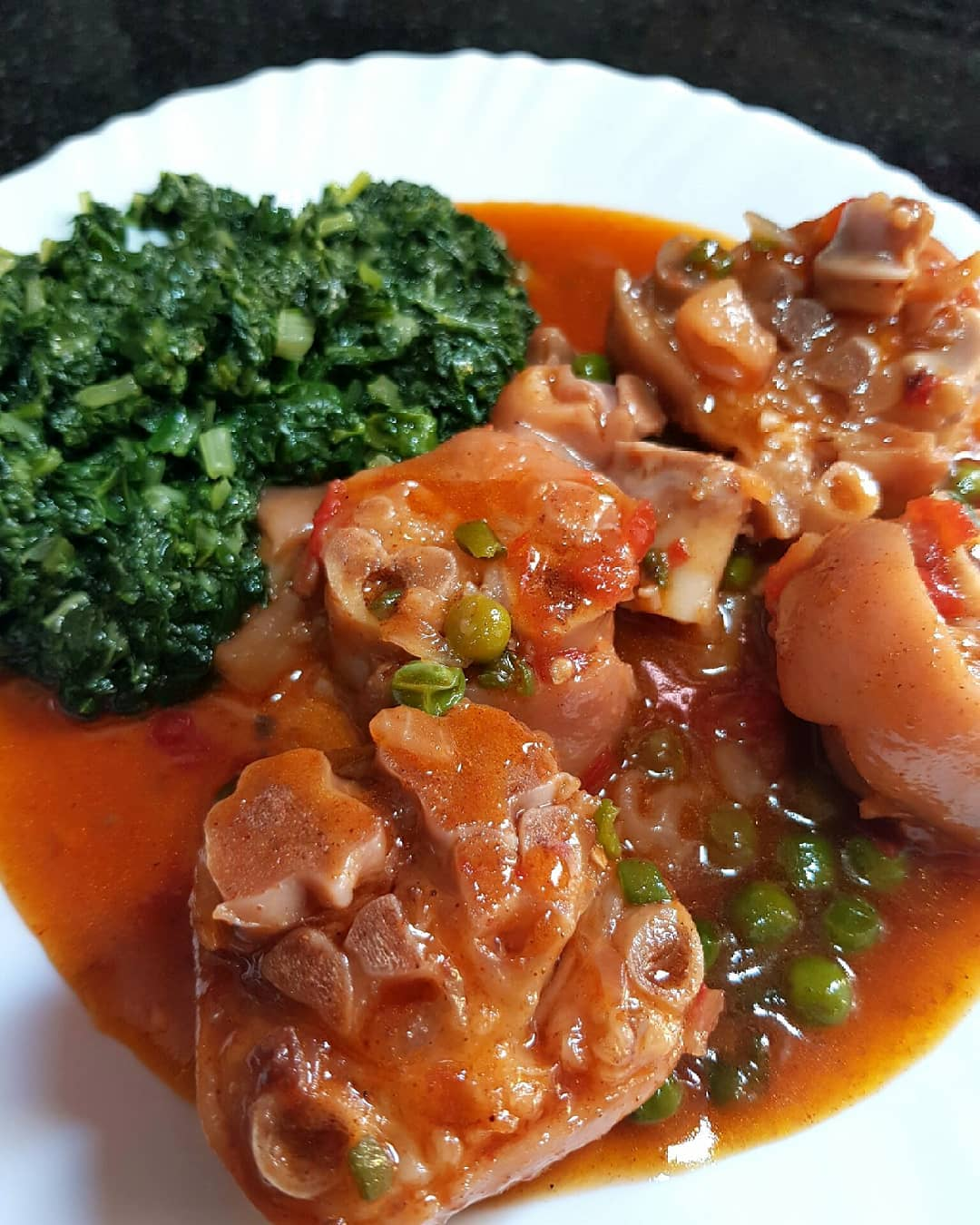 How to Cook Pig's Trotters-Zambian Food