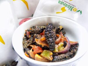 How to Cook Caterpillars-Mopane worms